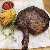 Стейк Cowboy з кукурудзою гриль і аджикою (500г)*