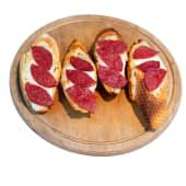 Sucuklu Mozzarellalı Sarımsaklı Ekmek (4 Adet)