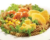 Saladas - Sugestão Ananás e Camarão