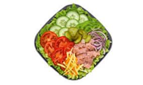 Menu Salade Jambon