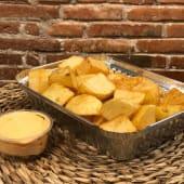 Patatas bravas picantes grandes