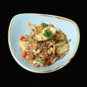 Рис з куркою та овочами (350г)