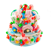 Pastel tarta de chuches (1.120 g.)