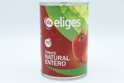 Tomate Natural Entero Eliges Lata De 240 Gramos.