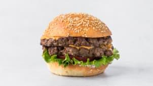 Бургер говяжий Двойной 390 г.