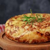 Tortilla de patatas con chorizo (grande)