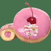 Донатс Cherry vanilla (90г)
