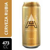 Cerveza Andes Rubia 473 cc