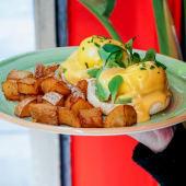 Huevos Benedict con Aguacate (Sin gluten)