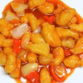 0123. Pollo in Salsa Agrodolce