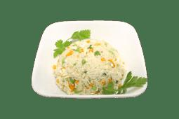 Рис смажений з зеленою цибулею i яйцями (250г)