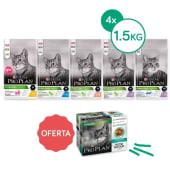 Pack Poupança Proplan Saco 1.5Kg (4 Unid)