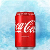 Coca Cola sabor original en lata (330 ml.)