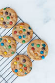 Cookie com M&Ms