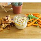Hummus tradicional + snack