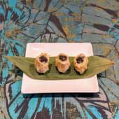 Dim-Sum shumai de pollo, queso y trufa (3 uds.)