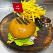 Chef бургер (270/100/30г/250мл)