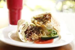 Bean & Mixed Veg Burrito