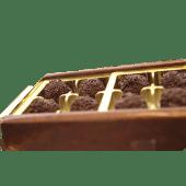 Caja de trufas surtidas (1/4 Kg.)