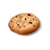Печиво з малиною та білим шоколадом