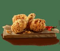 3 kawałki kurczaka Hot&Spicy
