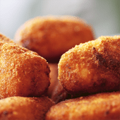 Croquetas caseras de queso de Cabrales