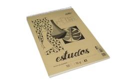 Bloco Desenho Esp.A3 Estudos Premium 90/100fls