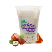 Bubble milk White caramel