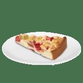 Tartă cu rubarbă și căpșune
