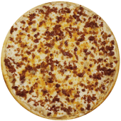 Pizza full cheese y tocino (personal)