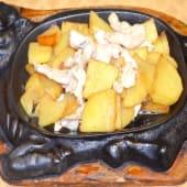 01171. Pollo con Patate alla Piastra