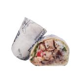 Burrito más gallo Malibú (pollo)