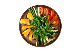 Букет з овочів з зеленню (350г)