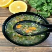 Lemon Corriander Soup