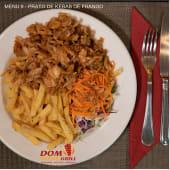 Menu 9 - Prato de Kebab de Frango