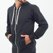 Sudadera Básica Con Capucha Color Negro Talla Xs