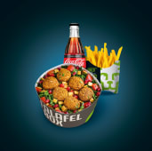 Meniu Falafel Box