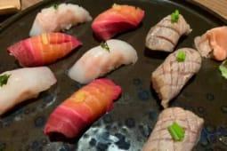 Nighiri rapa giapponese marinata - 2 pezzi