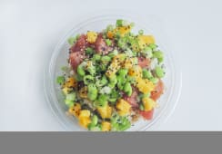 Mango tuna bowl