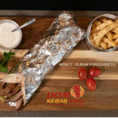Menu 7 - Durum-Wrap Porco Preto