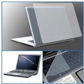 Pack Mica Protectora Laptop 15.6 Pulgadas, Pantalla, Teclado, Skin