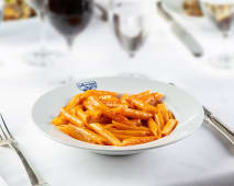 Penne mantecate