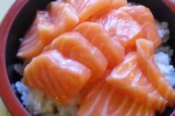 Cirashi salmone cotto
