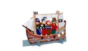 Marionette da dita pirati