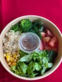 Боул салат вегетарианский
