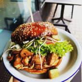 Burger z  Chlebowca