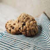 Choco nuts cookie