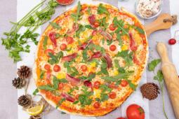 Pizza gourmet Alfredo