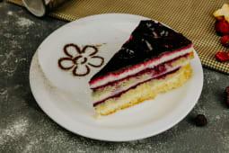 Смородино-творожный торт