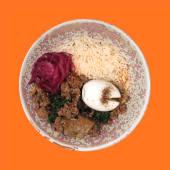 Рис із м'ясним рагу (420г)